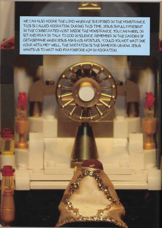 Adoration lego
